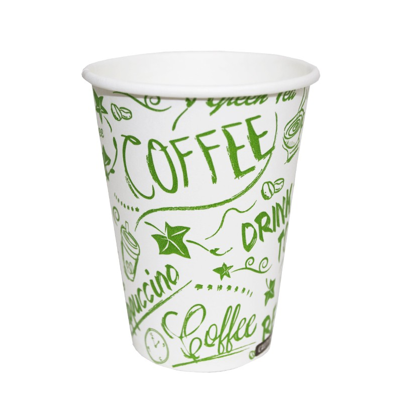 Vaso de cartón compostable de 220 cc (50 Uds)